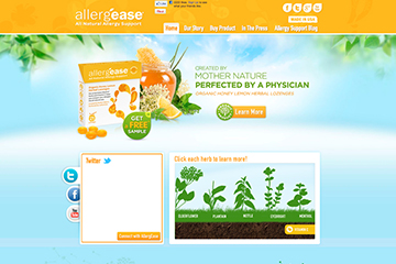 allergease website